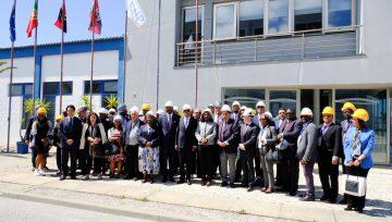 Ministra das Pescas e do Mar de Angola visita os ENP